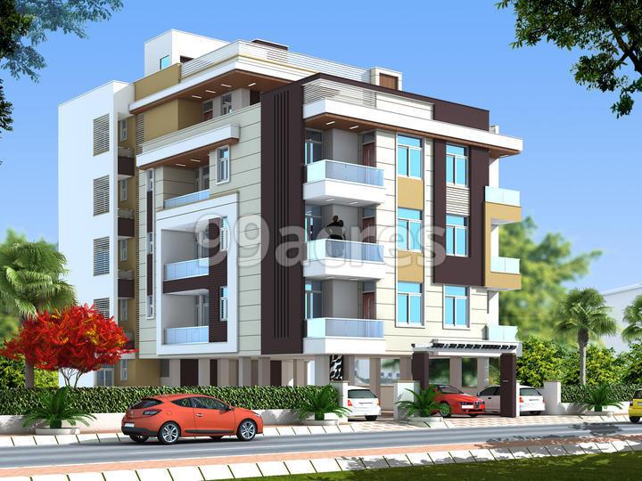 Somya Sky Nest Artistic Elevation
