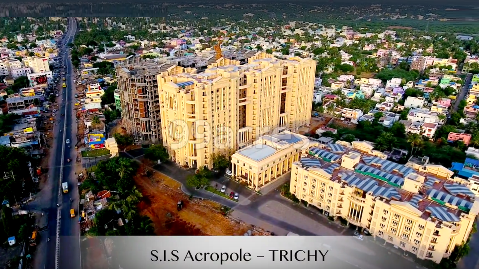 SIS Acropole Aerial View
