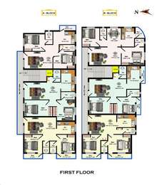 2 BHK Apartment in S P Homes