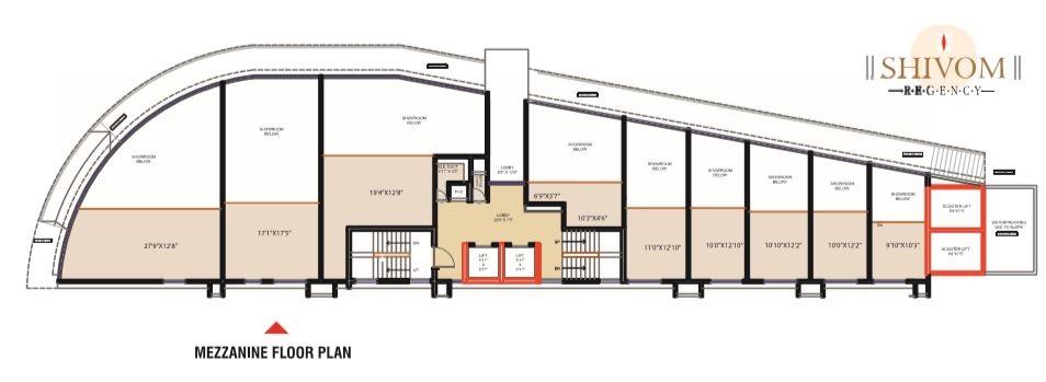 Shivom Regency Typical Plan