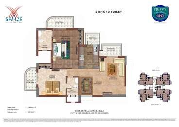 2 BHK Apartment in Spaze Privvy The Address