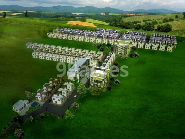 SRB Citi Homes Aerial View