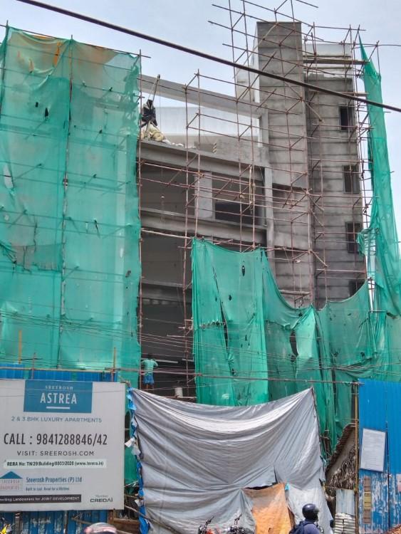 Sreerosh KGV Astrea construction status 14/04/2021