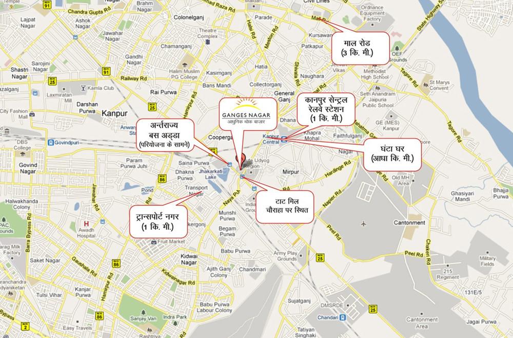 SRGP Corp Ltd Ganges Commercial Complex Map Ganges Commercial