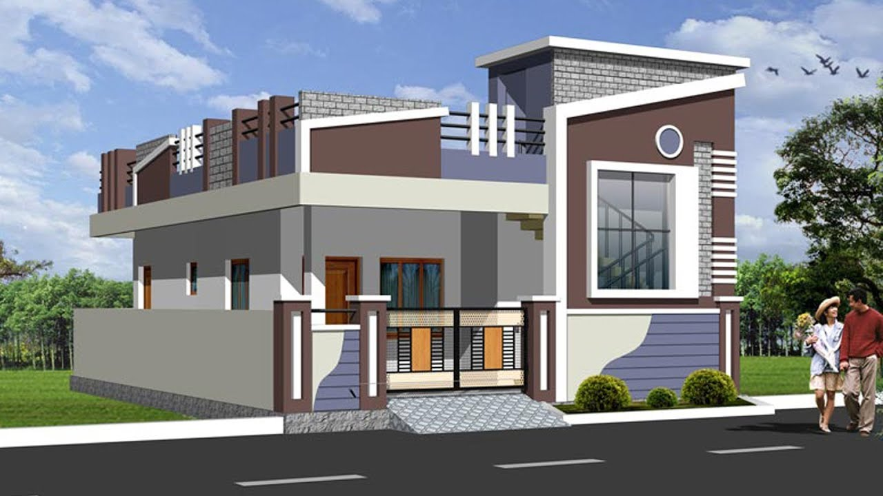 Small Duplex House Front Elevation : Sri angalamman real estates puram photos