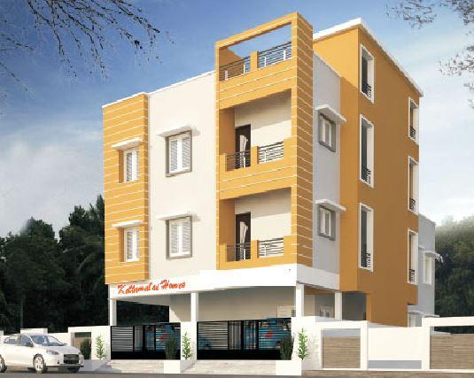 Inforich Kottamalai Homes Artistic Elevation