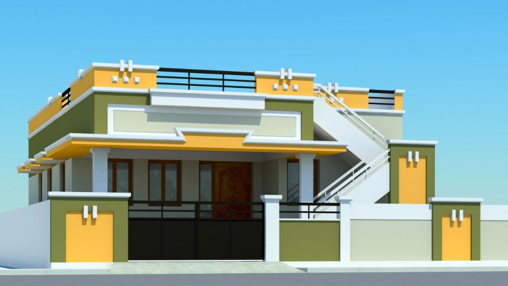 Coimbatore 3 Bhk House 1st Floor Previousnext