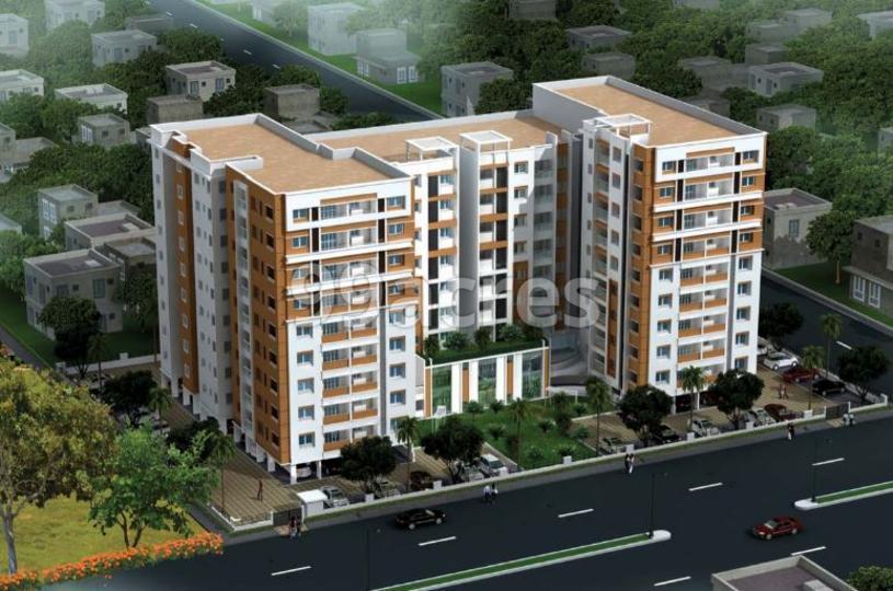 Sri Sreenivasa Crescent Heights Areal View