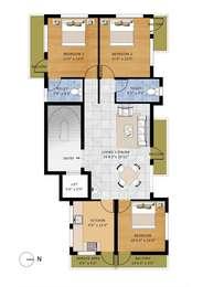 3 BHK Apartment in Sri Aishwaryam Annex