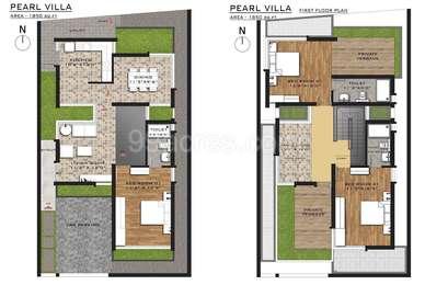 3 BHK Villa in Sri Vedhaa Pearl Villas