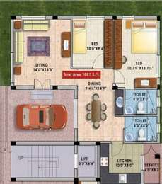 2 BHK Apartment in Star Enclave