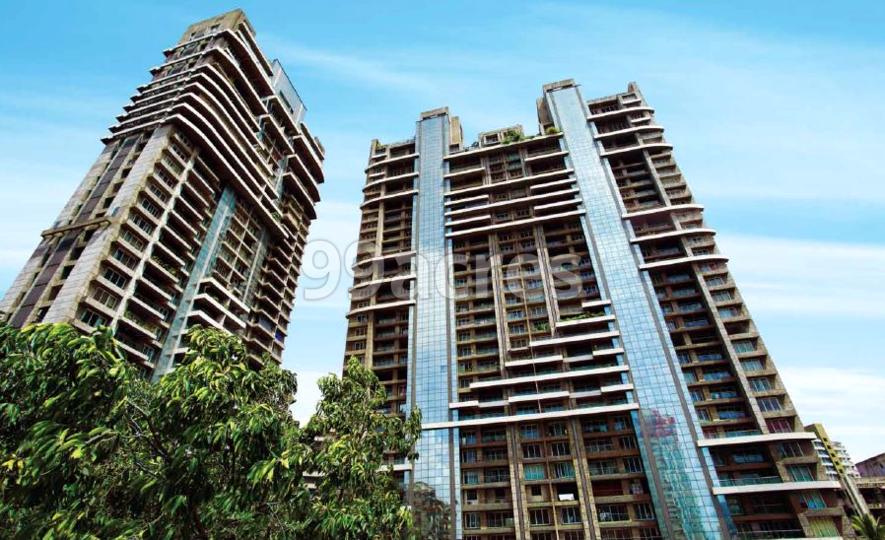 Sumer Trinity Towers Front Elevation 1