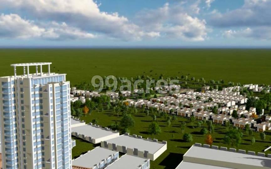 GTK Sumeru Fairylands Aerial View