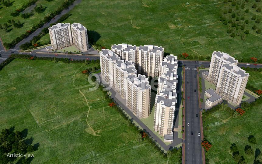 Suncity Avenue 76 Aerial View