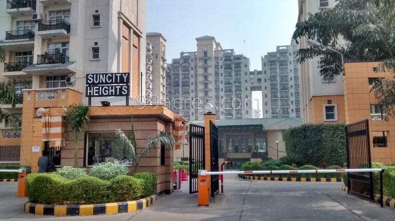 Suncity Heights Entrance
