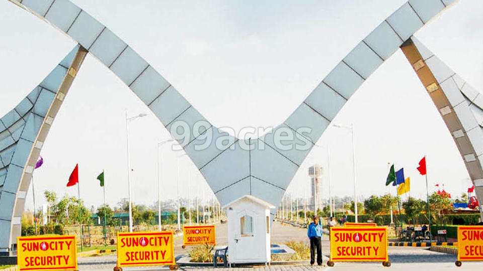 Suncity Township Entrance