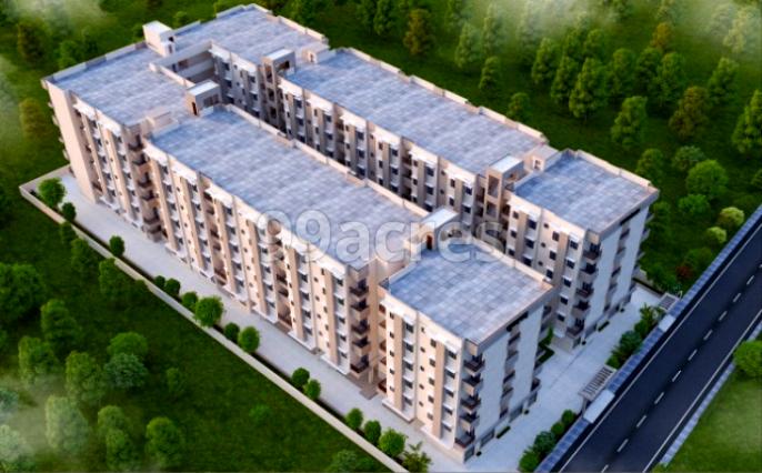 Sunderam Apartments Aerial View