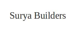 Surya Builders Bangalore