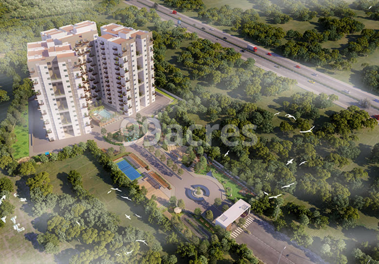 Surya Humming Bird Aerial View