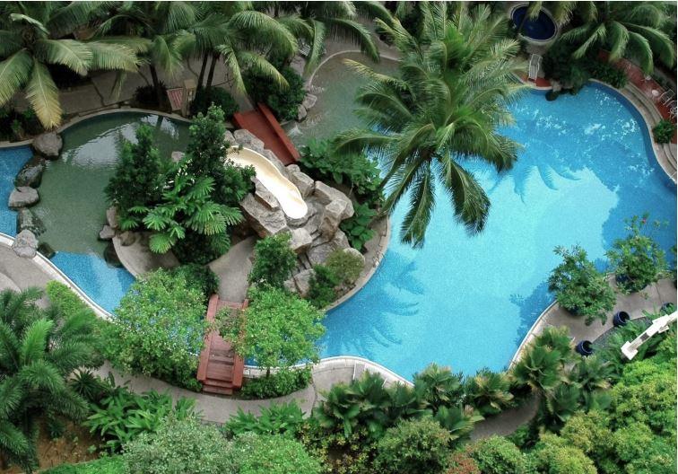 Suyojit Baug Sample Swimming Pool