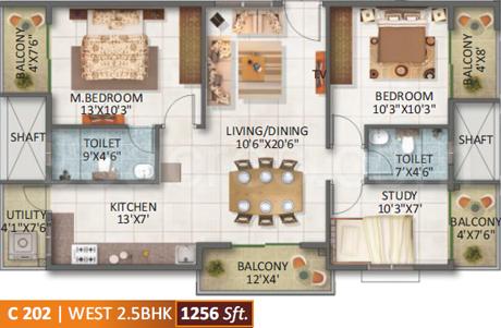 SV Constructions SV Legacy Floor Plan