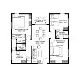 3 BHK Apartment in SVC Treewalk