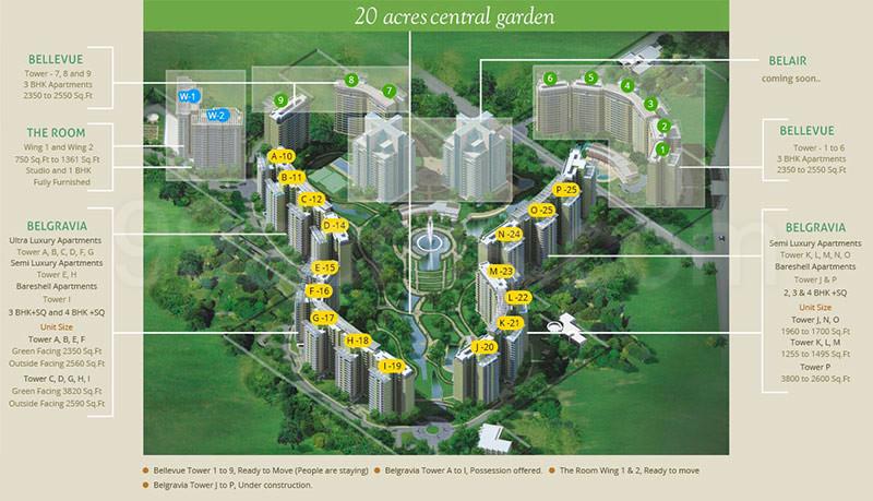 Central Park Resorts Sector 48 Gurgaon Price List Floor Plan