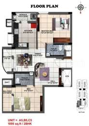 2 BHK Apartment in Switzer Melody Apartments