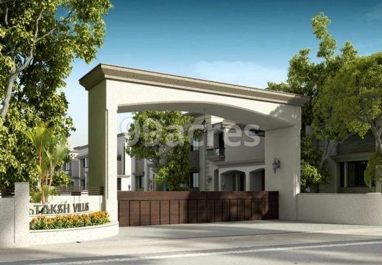 Taksh Villa Artistic Entrance