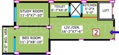 1 BHK Apartment in Team Taurus Kabya