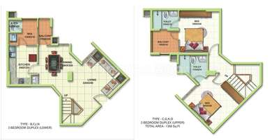 2 BHK Apartment in Trinity World