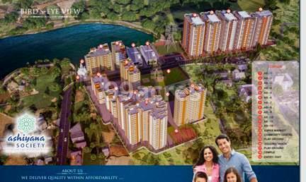 Unique Ashiyana Society Aerial View