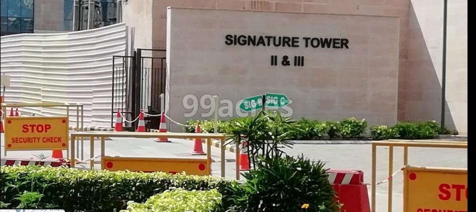 Unitech Signature Towers 2 Entrance