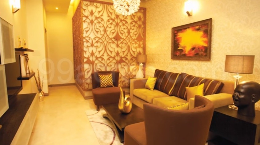 Unitech South Park Sample Drawing Room