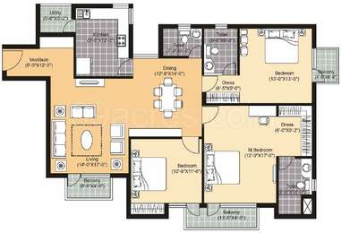 3 BHK Apartment in