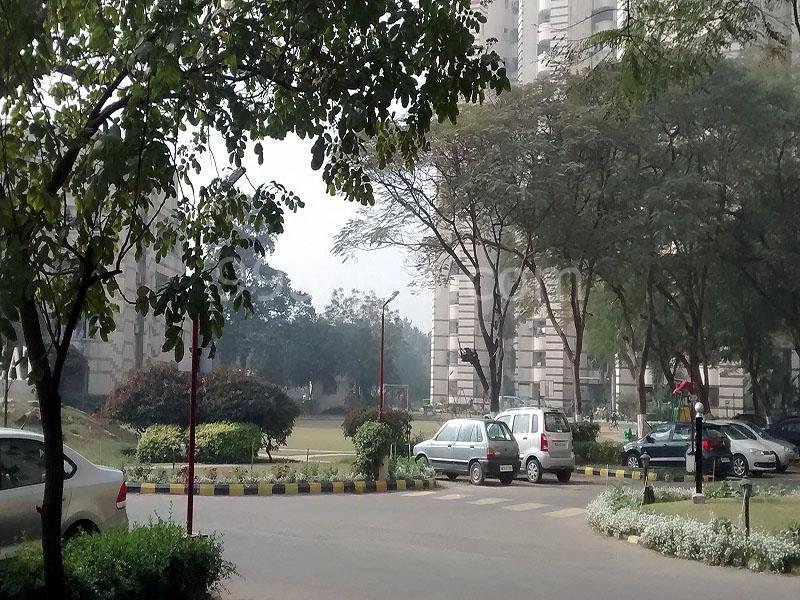 Unitech Rakshak Apartment Internal Road
