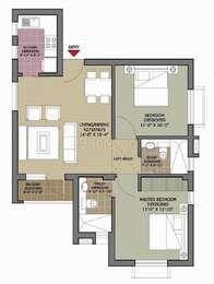 2 BHK Apartment in Unitech Vista