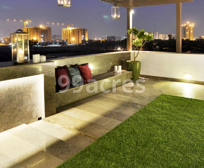 Unitech IVY Terraces Sit Out Area