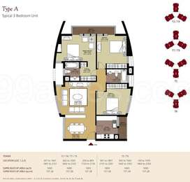 3 BHK Apartment in Unitech Universal Heights