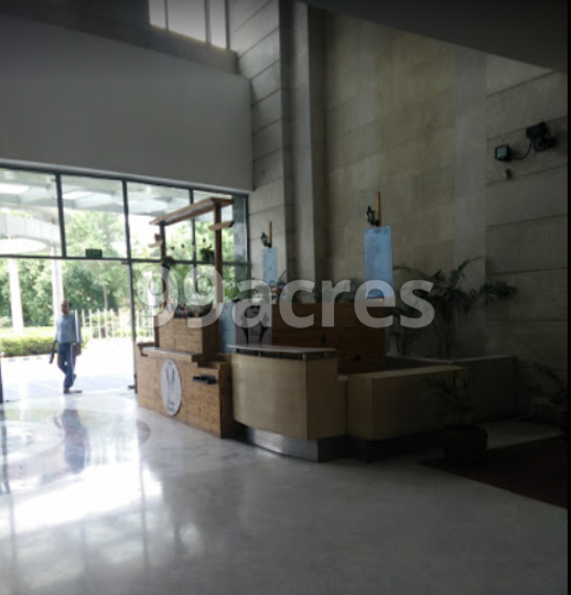 Unitech Trade Centre Reception Area