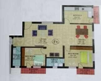 2 BHK Apartment in Leela Residence