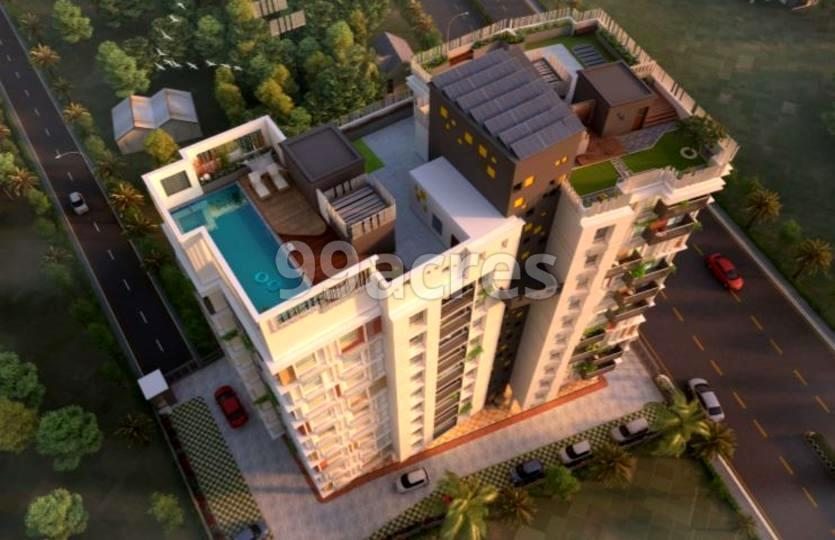 Aambani Meadow Land Aerial View