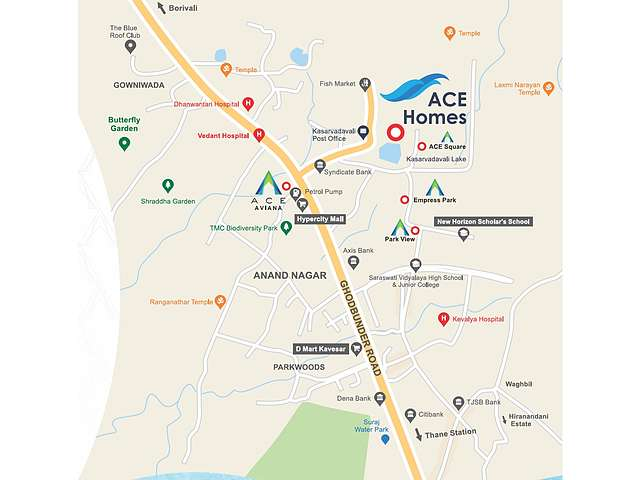 Ace Homes Thane, Ghodbunder Road | Price List, Brochure, Floor Plan