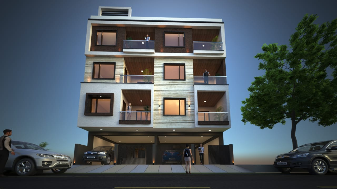 Agarwal Shree Jee Apartment Elevation