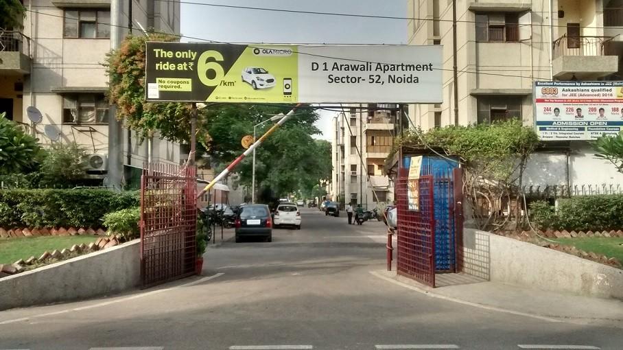 Arawali Apartment Entrance