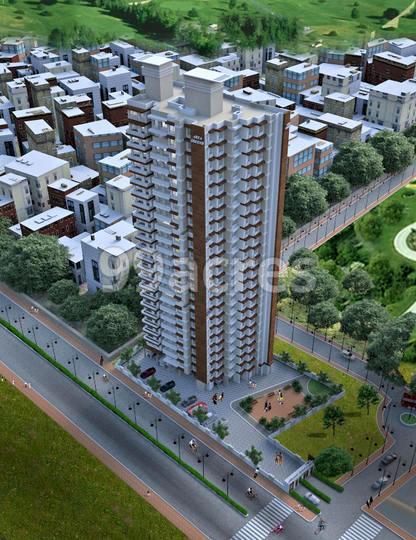 Anushka Arya Greens Aerial View