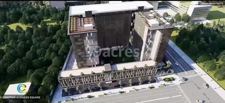 Centrum Business Square Aerial View