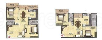 2 BHK Apartment in Fortune Residency