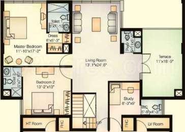 2 BHK Apartment in Magarpatta City Jasminium