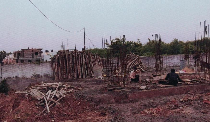 Maa Omkar Residency construction status 06/07/2018